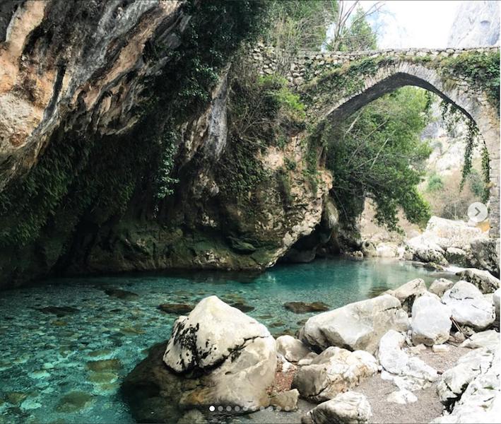 Natureza exuberante na Espanha