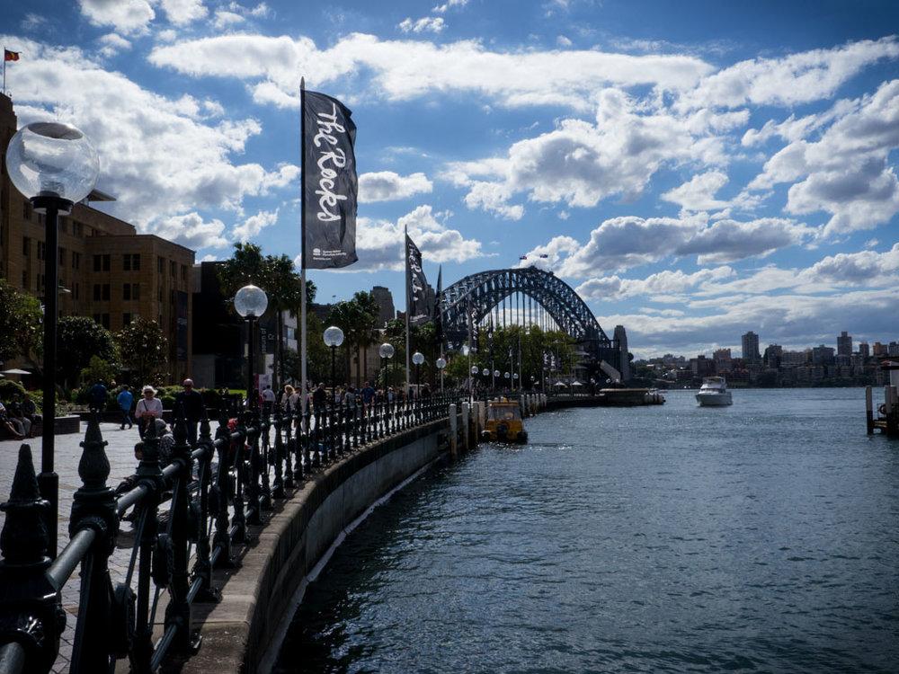 Pelas ruas de Sydney