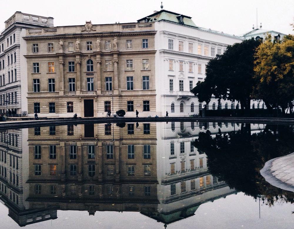 Pelas ruas de Vienna - deslumbrante e fria
