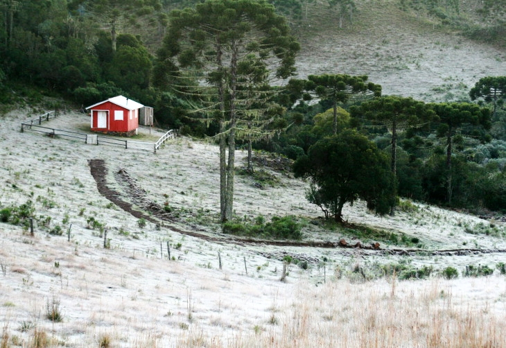Inverno em Visconde de Mauá
