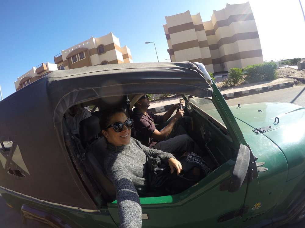 Viajando sozinha pelo Egito - Dahab