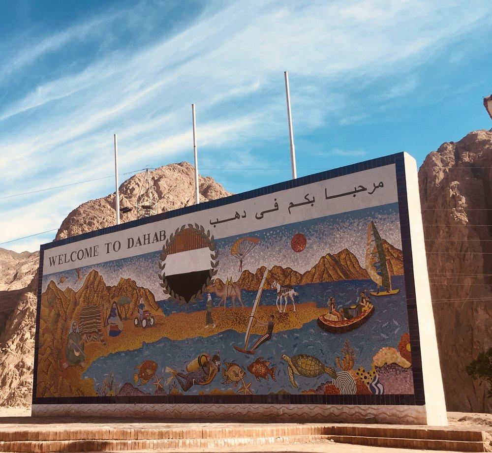 Mochilão no Egito