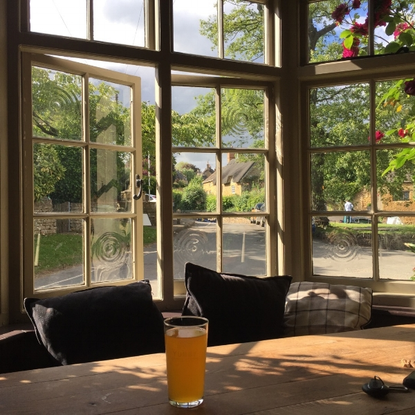 Have a pub lunch in the heart of the Cotswolds  Instagram;  theebringtonarms