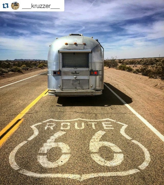 Rent a caravan and take on the iconic Route 66  Instagram;  _kruzzer_