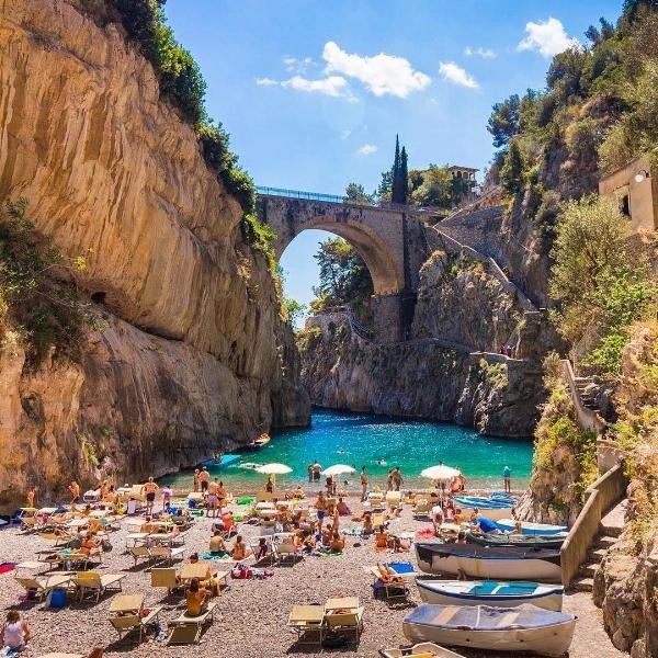 Sun yourself in scenic surroundings on the Amalfi Coast  Instagram;  amalficoast_italy