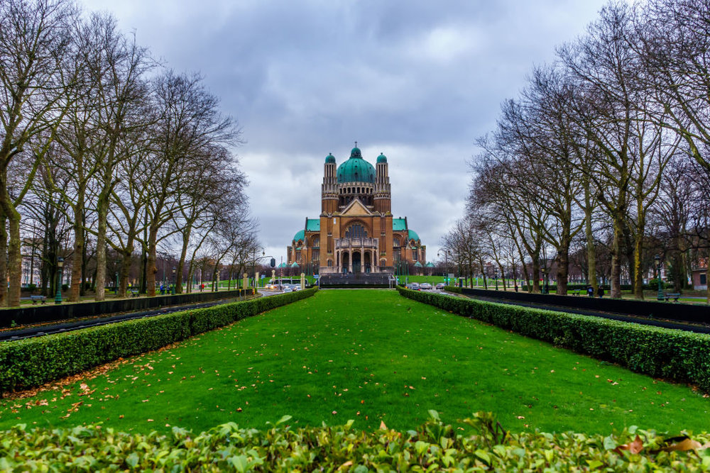 Basilica of the Sacred Heart Brussels Belgium Koerkelberg