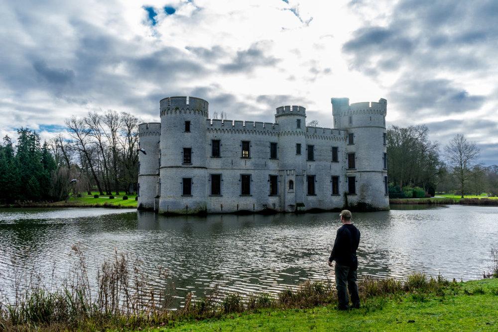 Brussels Bouchout Castle Overlook Belgium