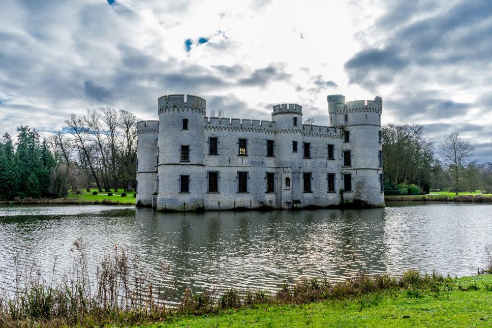 Brussels Bouchout Castle Belgium