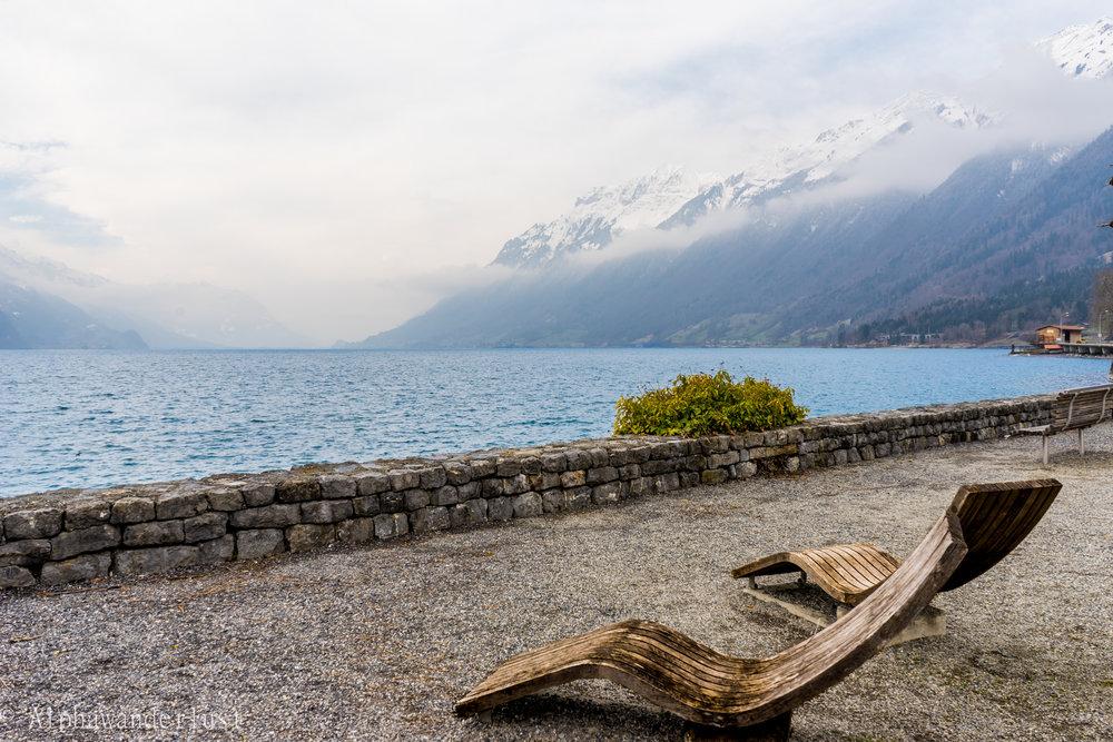 Interlaken Brienzersee Lake chairs