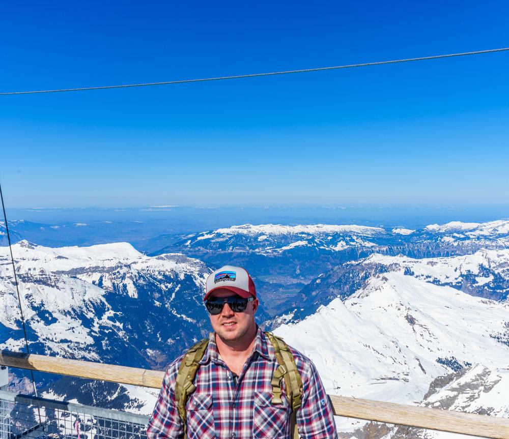 Jungfrau Top of Europe Overlook Interlaken Self