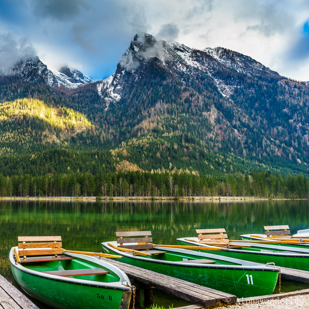 Hintersee Boats