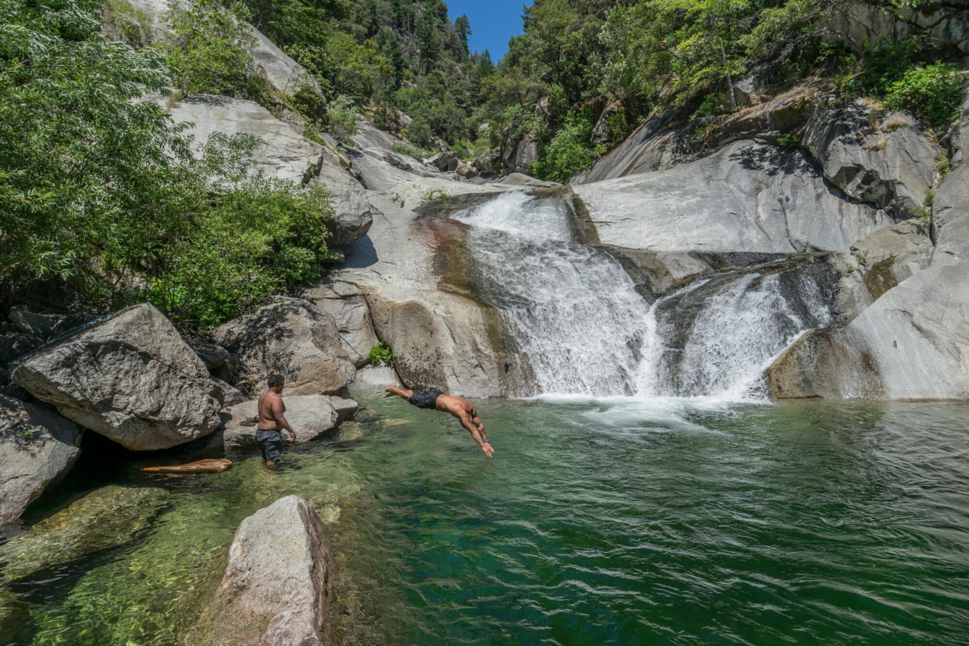 rock creek swimming hole natures waterslide alphawanderlust