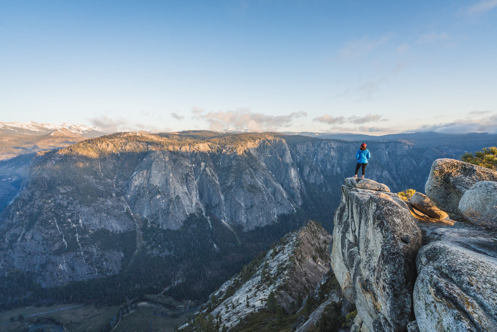 Eagle peak at sunset yosemite national park california