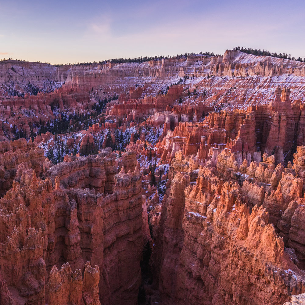 Sunrise sunset point Bryce canyon national park utah sony ar73 a7riii