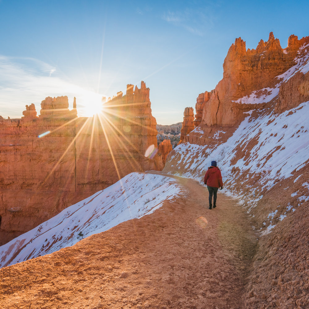 Sunrise sunset point Bryce canyon national park utah sony ar73 a7riii queens garden trail navajo loop