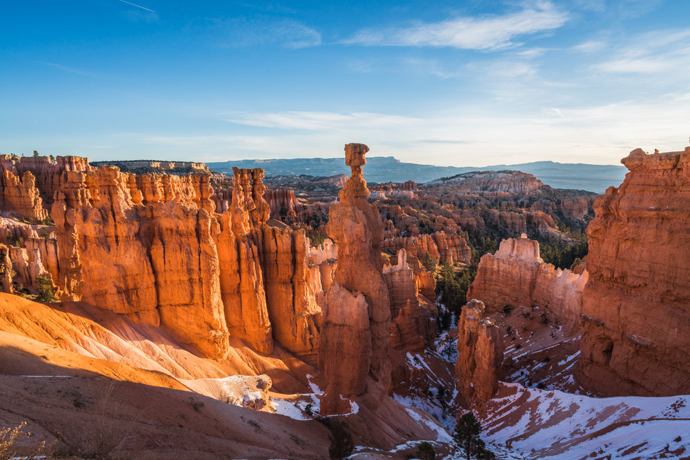 Sunrise sunset point Bryce canyon national park utah sony ar73 a7riii queens garden navajo loop trail best hikes