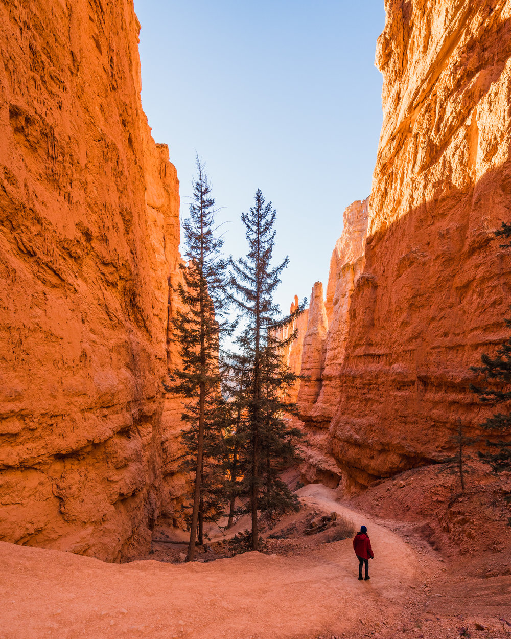 Sunrise sunset point Bryce canyon national park utah sony ar73 a7riii queens garden navajo loop trail best hikes switchbacks