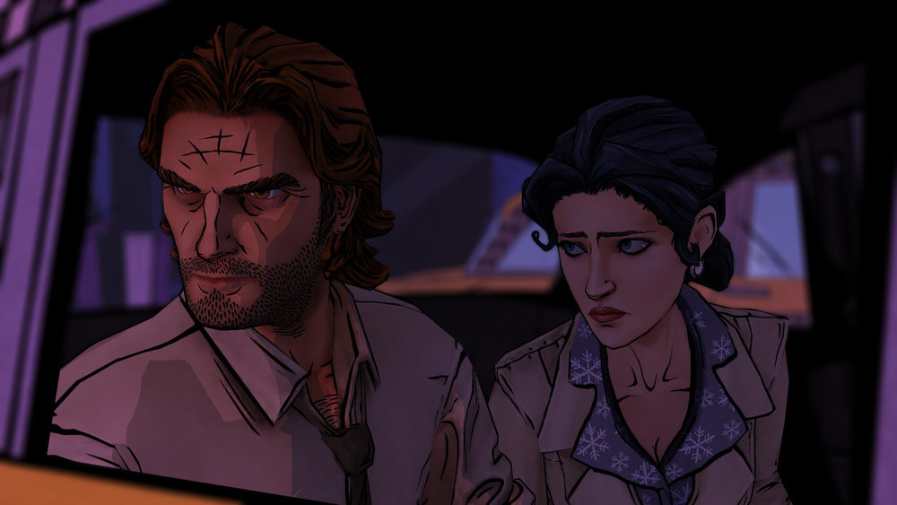 Snow and Bigby, The Wolf Among Us
