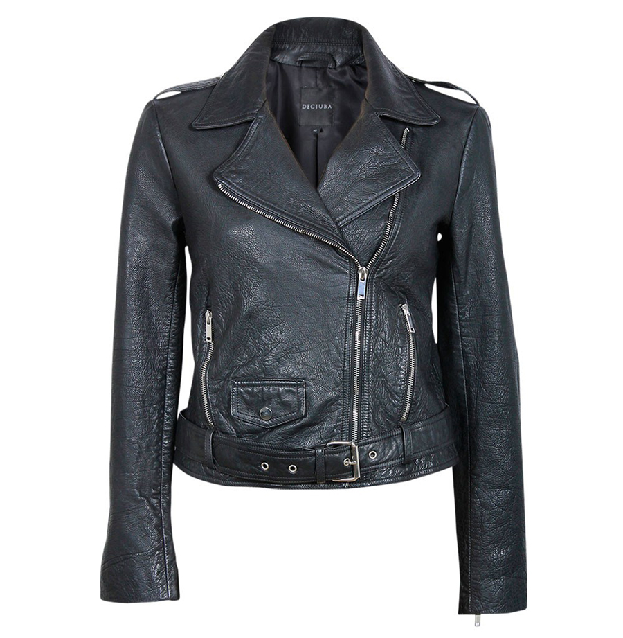 DECJUBA Mercedes Leather Jacket