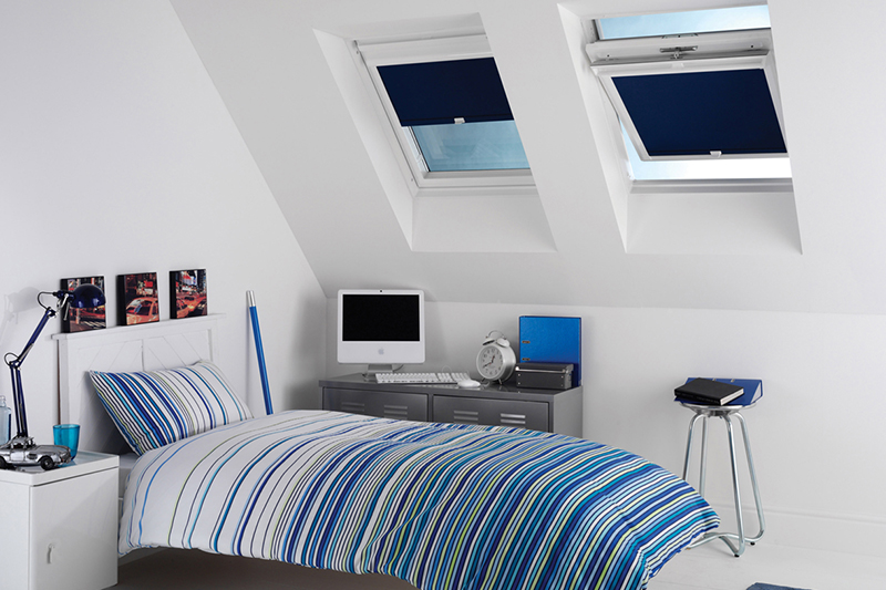 Skylight Blinds Skylight windows are a beautiful feature of a room, allowing the light to flood into an otherwise dark and gloomy space...