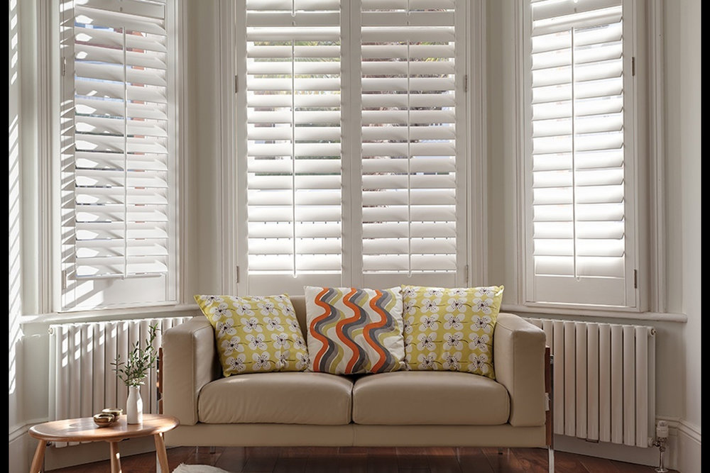 Shutters - Made-to-Measure If you thought shutters were solely for pretty French cottages and farmhouses, our range will make you think again...