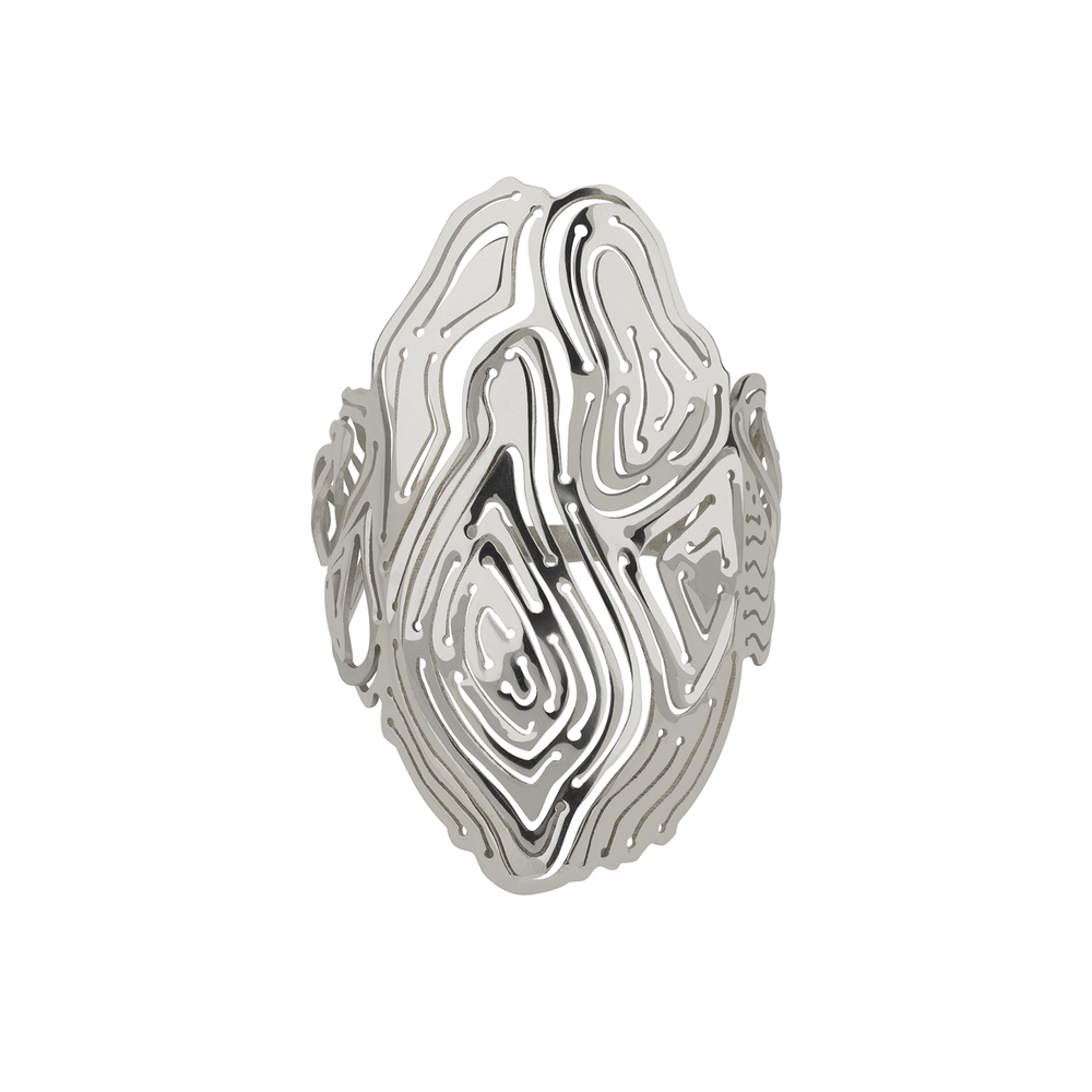 Kay Konecna | Water Ring Silver