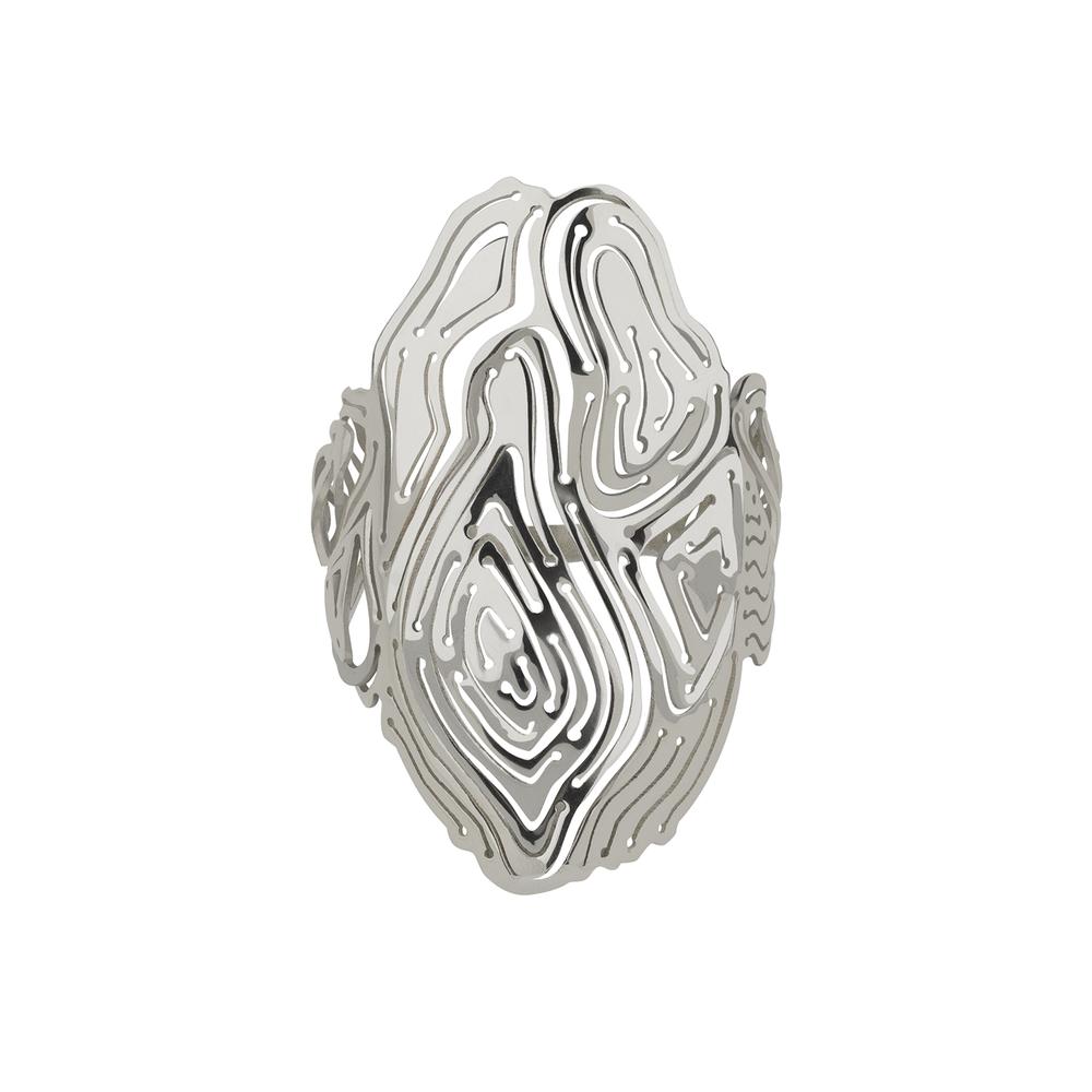 Kay Konecna | Water Ring Silver