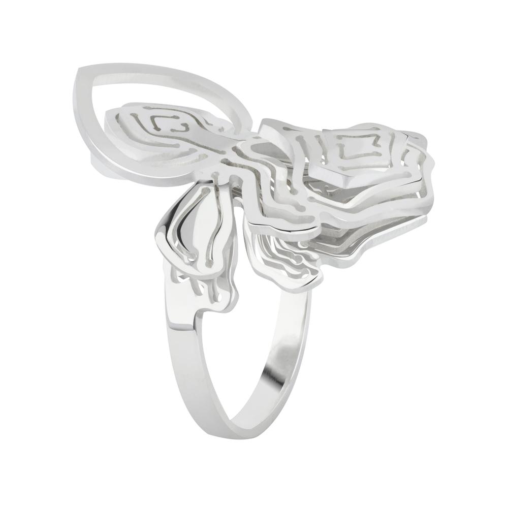 Kay Konecna | Fay Flower Ring Silver
