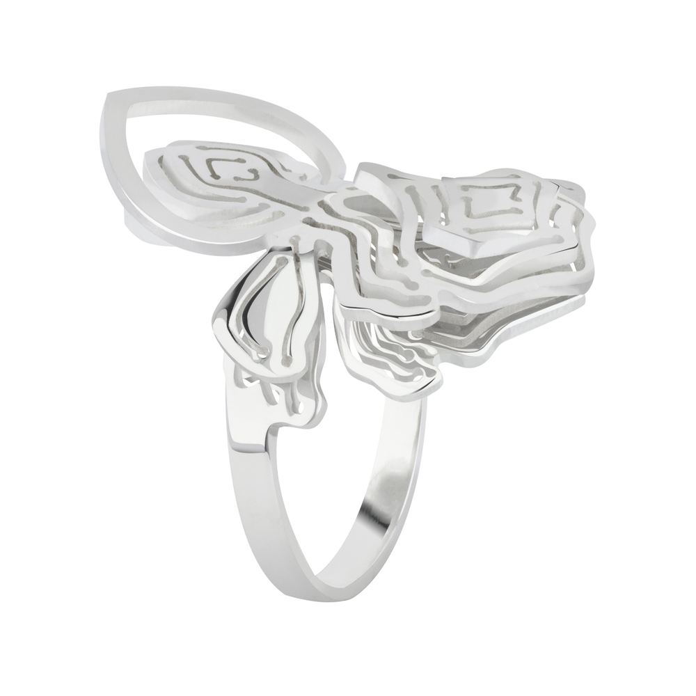Kay Konecna   Fay Flower Ring