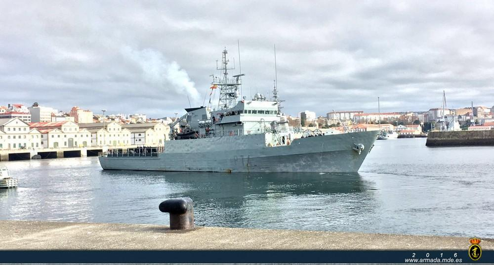 OPV Atalaya © Armada Española
