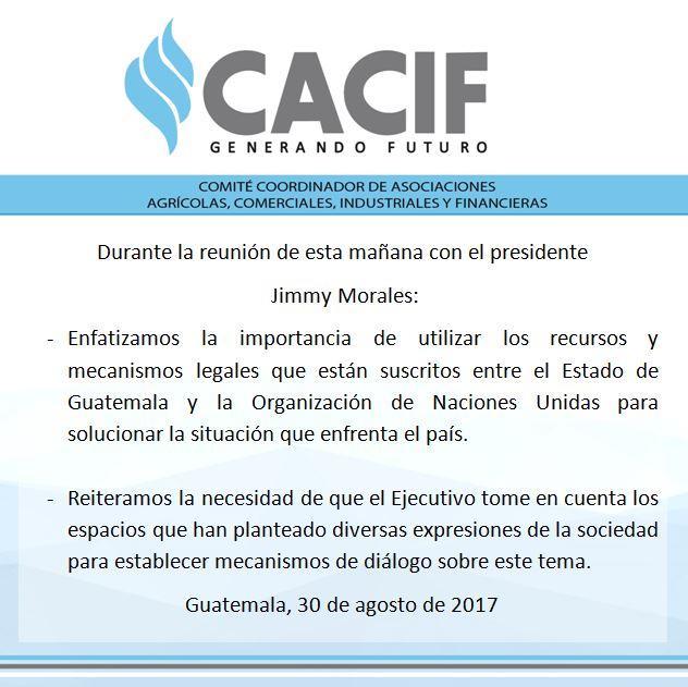 Comunicado reunión con presidente Morales.jpg