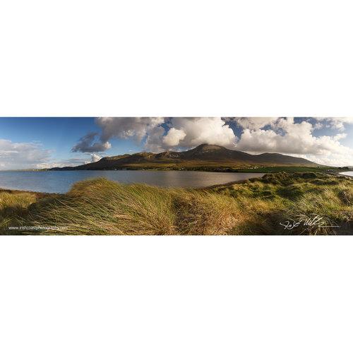 panoramic print 24 croagh patrick from bertra strand murrisk co