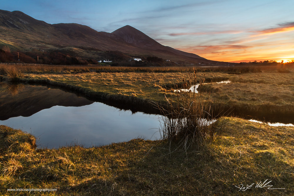 Croagh Patrick from Deerpark, Murrisk, Co. Mayo