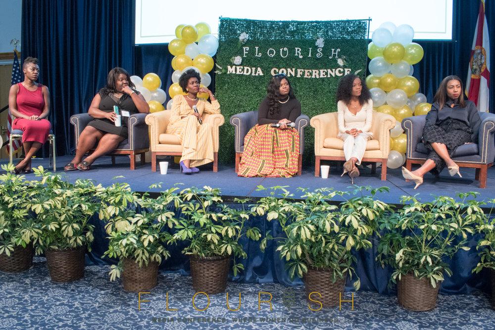 Flourish Media Conference Panelist