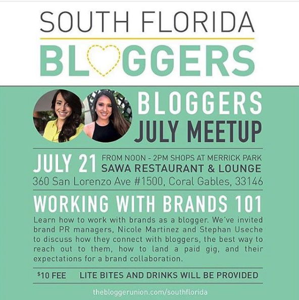 Bloggers Union July Meet Up