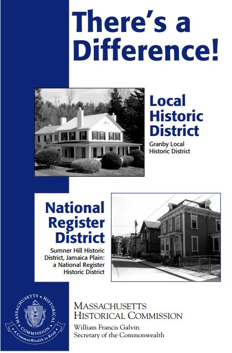 Local Historic Districts vs. National Register Districts
