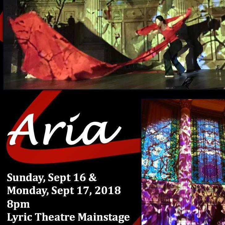 ARIA at Rochester Fringe Festival - Sun. 9/16/18 and Mon. 9/17/18 @ 8PM, Lyric Theatrewith BIODANCE, W. Michelle Harris, and Kearstin Piper BrownLyric Theater440 East AveRochester, NY 14607Tickets - http://rochesterfringe.com/tickets-and-shows/aria