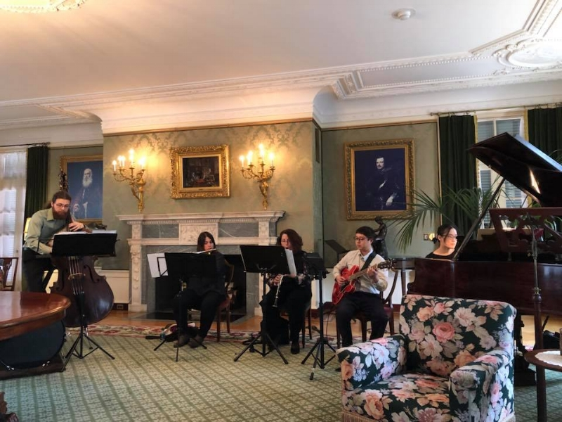 SUNDAY APRIL 8, 2018  George Eastman House   Music of David Crowell, Olafur Arnalds, Meredith Monk, Sungmin Shin, Andersen Viana, Julia Seeholzer, and Jonathan Russell