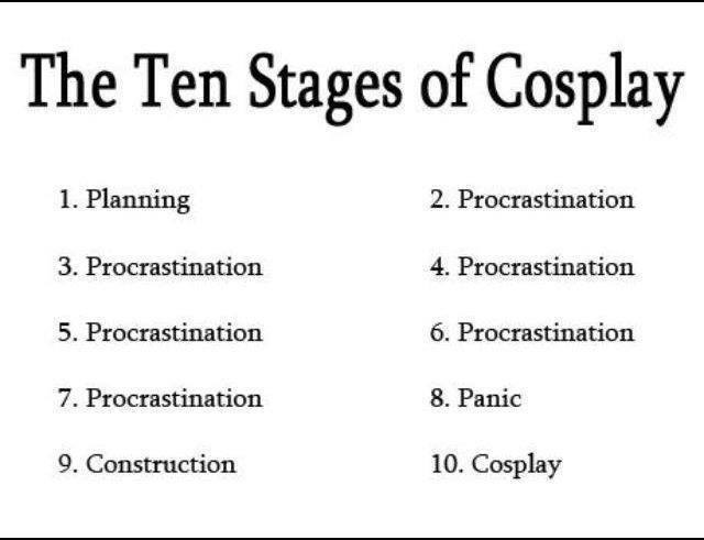 Yeah....the the same thing across the board. Ask your cosplay friends :-)