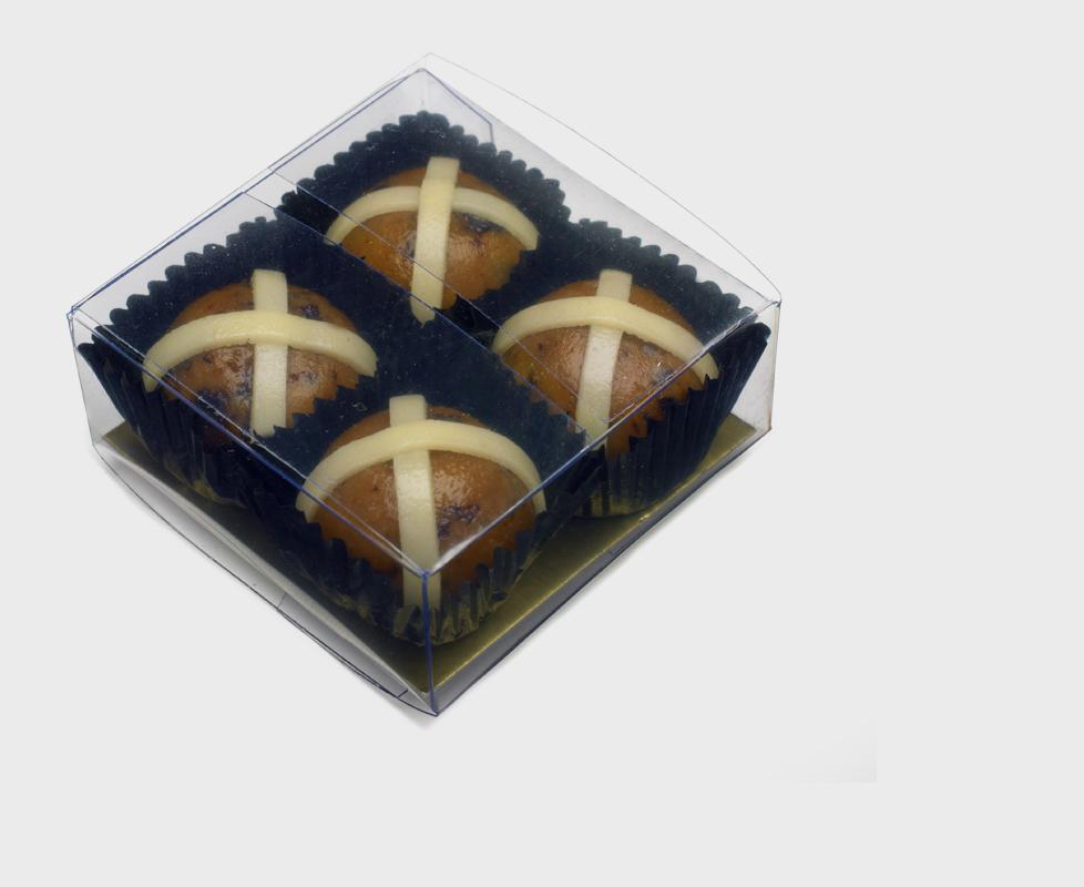 Shepcote Marzipan Hot Cross Buns