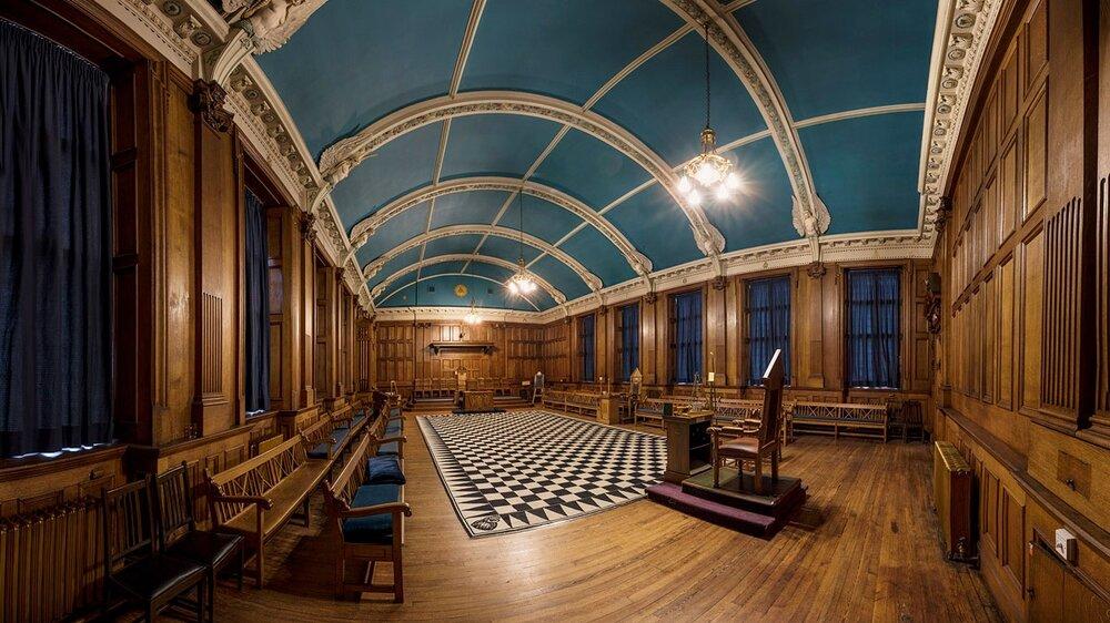Aberdeen Temple - Part of Spectra - Aberdeen's Festival of Light 2017