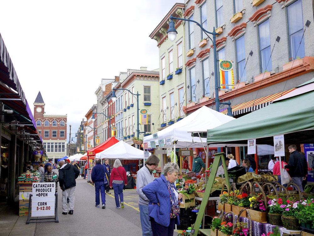 Findlay Market in Over The Rhine, Cincinnati (Photo credit: Flickr_5scw4r7z)