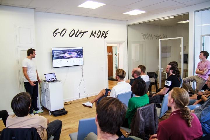 Developer event at Billetto's Copenhagen headquarters