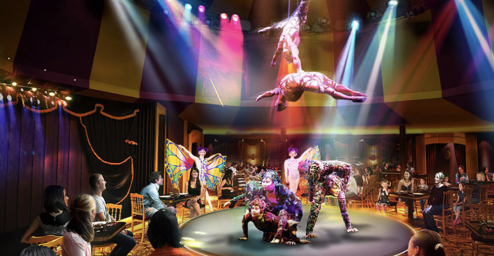 Saturday Sept 22: At Sea - Enjoy a show!Only Norwegian Breakaway entertains with three Broadway shows: Rock of Ages the five-time Tony® Award-nominated musical, Cirque Dreams & Dinner Jungle Fantasy and Burn the Floor.