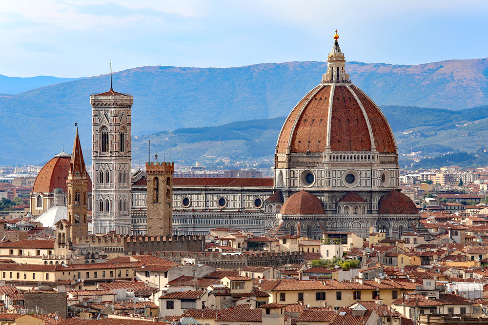 Aug 13:Florence - Spend the day exploring Florence. With so many museums, shops, bridges, gardens and cathedrals to see. you'll want to get an early start!