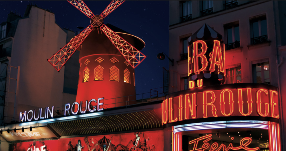 Aug 19: Explore Paris7p - 11p: Moulin Rouge(Dinner and a show)  - Explore the city of Paris today, finishing up your shopping or stopping by one of the areas that you loved the most! This evening, enjoy dinner and a show at Moulin Rouge! (This show sells out quickly, so we will want to book it ASAP!) Le Moulin Rouge is world famous thanks to its French Cancan, and immortalized by the painter Henri de Toulouse-Lautrec. The sumptuous shows at the Moulin Rouge feature feathers, rhinestones and sequins, fabulous settings, original music and of course... the most beautiful girls in the world.Many international stars have performed on stage at the Moulin Rouge including Ella Fitzgerald, Liza Minnelli, Frank Sinatra and Elton John. They have all put on exceptional shows, following in the footsteps of French celebrities such as Maurice Chevalier, Jean Gabin, Edith Piaf and Yves Montand.