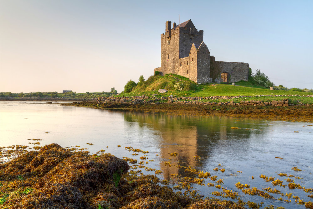 September 11: GalwayGalway cathedralDunguaire Castle - HAPPY BIRTHDAY, BRANDON!This morning, you'll check out of your hotel and drive north to Galway, where you will stay in your central hotel for the next 4 nights.Known as the ˜City of the Tribes