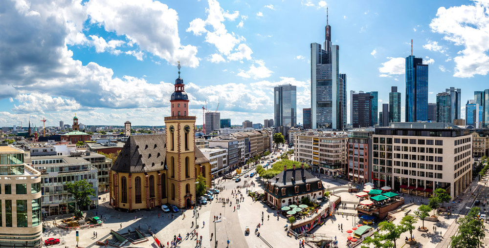 June 27: Arrive in Frankfurt - You'll arrive in Frankfurt a day ahead of your mother.Private transportation will take you to your hotel. After checking into your hotel, start exploring the city on your own! (a Hop on Hop Off bus may be a great way to explore, or find a quaint cafe near  your hotel to relax and people watch.)