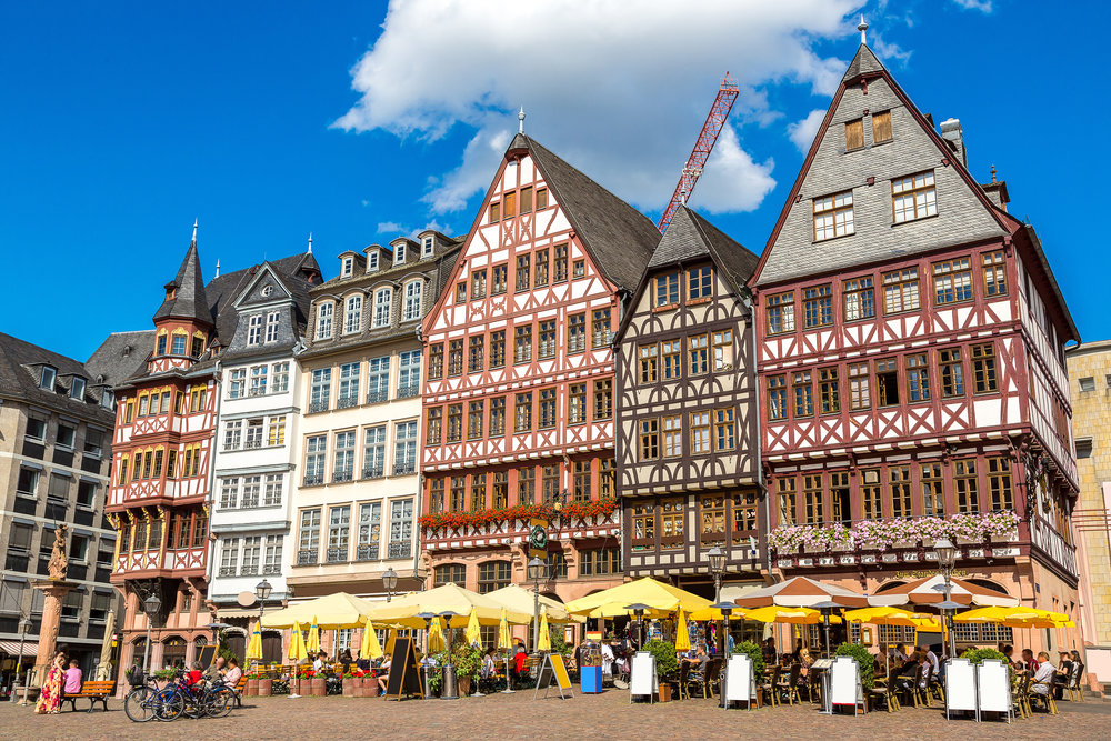 June 28: Mom arrives - Enjoy Frankfurt with your mom as you all settle into your new surroundings!