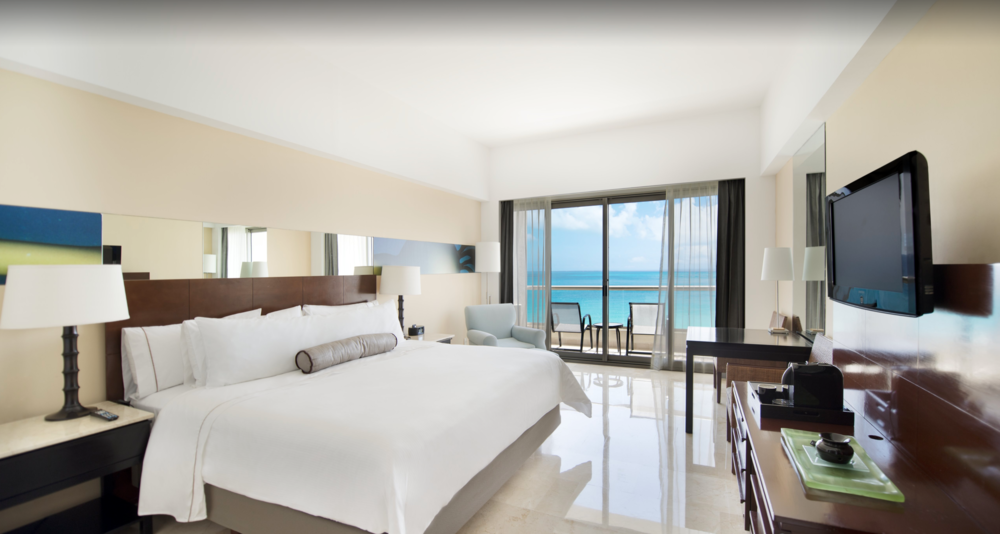 HOTELS - Live Aqua Cancun - All InclusiveRoom typeUpgraded to: Deluxe Oceanview King Room